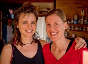 Kasia and Heidi